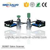 Galvo entrado 16m m analogico del explorador de laser de la abertura Js2807 del chino Galvo para la cortadora del laser
