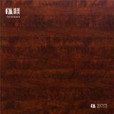 Papel de impressão decorativo, papel da melamina com cor escura para o MDF e madeira compensada