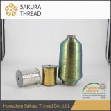 Multicolor металлическая резьба вышивки для ткани с высоким типом