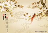 """"""" Zhi silencioso Yuan """" de cartón corrugado para el modelo No. de la decoración de la sala de estar: Wl-006"""