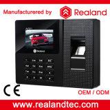 Biométrico de impressão digital e sistema de atendimento RFID Cartão de tempo com o Free SDK e bateria de backup