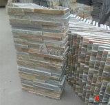 Ardoise normale rouillée de coin de pierre de culture pour le mur, toit, étage