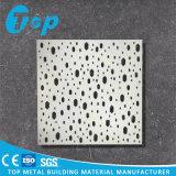 Tuile ignifuge imperméable à l'eau en métal d'arts d'alliage de matériaux de plafond et de mur