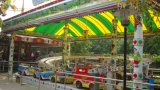 Carros ao ar livre favoritos da Mini-Canela do equipamento do campo de jogos dos miúdos