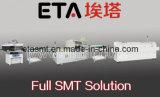 Производственная линия печь SMT Reflow и выбор и место обломока машина