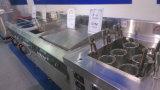Gauffreuse électrique de Tableau d'acier inoxydable de cuisine première