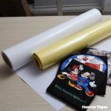 Papel de algodón oscuro de la impresión de la camiseta del traspaso térmico de la inyección de tinta para la tela 100% de algodón