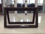 Ventana de cadena de aluminio del toldo de la devanadera con el vidrio Tempered doble (PNOC-CWW006)