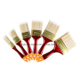 """Щетка краски 1 Polyster красной пластичной ручки высокого качества Nylon """""""