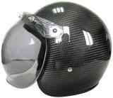 Самый новый Half- шлем мотоцикла стороны с раковиной стеклоткани, ценой высокого качества дешевым, СТАВИТ ТОЧКИ Approved