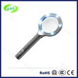 Magnifier del gioielliere del LED illuminato estrazione portatile tenuta in mano rotonda