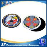 Correções de programa de borracha feitas sob encomenda do PVC do logotipo 3D dos guerreiros