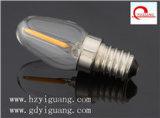 Bulbo da vela do diodo emissor de luz de E14 220V/110V 3W C7, TUV/UL/GS