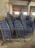 Stahlrahmen-stapelbare Auditoriums-Kirche-Stühle (JY-G13)