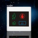 El panel al aire libre del sistema del timbre del hotel en el marco plástico del esquema (SK-dB2300S3-S)