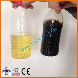 Tipo modulare il nero del cambiamento alla pianta mobile della raffineria di petrolio dello spreco di colore giallo