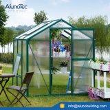 緑色の温室の保存性の花の家
