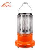 APG 2 em 1 calefator ao ar livre portátil do calefator de gás de LPG/Nature