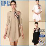 Подгоняйте платье хлопка и для одежд способа женщин в Китае