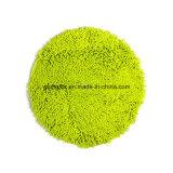 Зеленая круглая циновка
