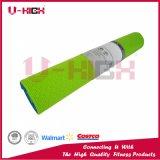 Estera dual de Pilates de la estera de la yoga del PVC de los accesorios de la yoga del color de la textura