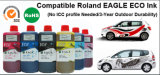 高品質のロランドプリンターのための互換性のあるEco支払能力があるインク((3年の屋外の耐久性)