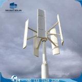 turbina de vento vertical pequena da linha central das lâminas 12V 24V do jogo quatro do gerador 400W