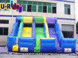 屋内スライドの子供のための跳躍の使用3ライン膨脹可能なスライド