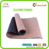 Cork van de hoogste Kwaliteit de Natuurlijke Milieuvriendelijke Douane Afgedrukte Mat van de Yoga