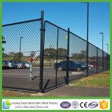 Frontière de sécurité enduite galvanisée de maillon de chaîne de PVC de frontière de sécurité de maillon de chaîne à vendre