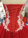 A venda por atacado de Aoliweiya personaliza o vestido do baile de finalistas do vestido de esfera
