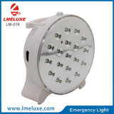 Indicatore luminoso ricaricabile di emergenza LED di 19 PCS