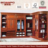 Moderne Luxe 4 Garderobe van de Slaapkamer van de Deur de Houten (GSP9-005)