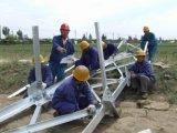 Projet en acier d'ingénierie de tour de cornière