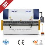 Máquina de dobramento de placa hidráulica de freio de prensagem de ferro forjado manual para aço