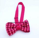 Vente en gros de motifs divers Cravate soie / Polyester en tricot pour hommes