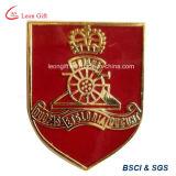 Pin britannico su ordinazione del risvolto del distintivo del metallo dell'esercito