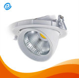 Embutir la MAZORCA ajustable rotativa LED Downlighting de Dimmable 8W del techo