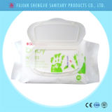 OEM Nice Design Hand and Mouth Soins de la peau Baby Wet Wipe