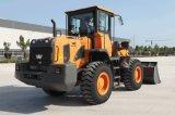 機械制御を用いるYx635旗の前部車輪のローダーおよびさまざまな労働条件のための1.8 M3バケツ