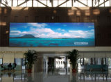 pantalla de visualización fundida a troquel obra clásica de LED de pH4mm para la instalación fija de interior