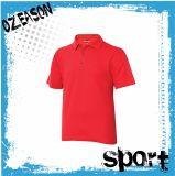 Удобные люди/женщины упрощают рубашку пола гольфа хлопка (P005)