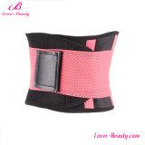 Espartilho barato desossado de Cincher da cintura do ABS plástico cor-de-rosa útil encantador