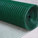 Acoplamiento de alambre soldado cubierto PVC del precio bajo con alta calidad