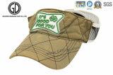 Drifit Marathlonは3D刺繍のロゴの日曜日バイザーの帽子を遊ばす