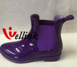 Estilo Rainboots de goma colorido de la manera de las mujeres