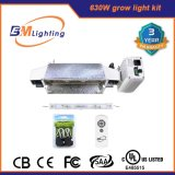 Hot Sale Hydroponic Growing Systems 630W Double Ended Electronic Lastre Grow Light Kit para estufa