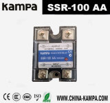 100AA SSR Input 90-280V Wechselstrombelastung 24-480V Wechselstrom-einphasiges Wechselstrom-Relais