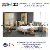 Jogos de couro luxuosos da mobília do quarto do hotel da base do plutônio (702A#)