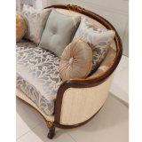 Sala Sofa Set com tecido e quadro de madeira